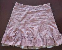 Fancy Refashioned Double Ruffle Skirt