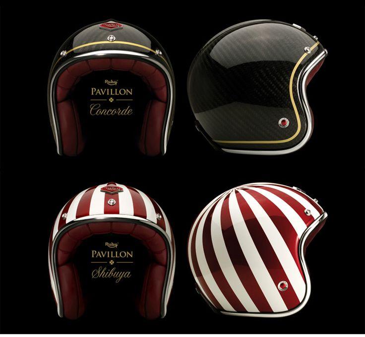 Ruby Helmets - Pipeburn - Purveyors of Classic Motorcycles, Cafe Racers & Custom motorbikes