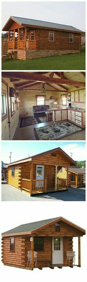 Cumberland Log Cabin Kit Starting From $16,348 By The Amish Cabin Company |  WoodworkerZ.com U2026 | Pinteresu2026