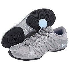 Nike Musique shoes (recommended for Zumba and/or dancing) They come in grey, white or black.
