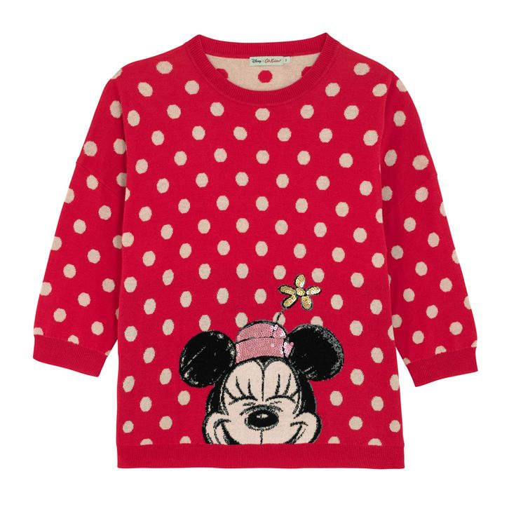 Size XS  Minnie Button Spot Placement Jumper | Mickey Mouse Fashion | CathKidston