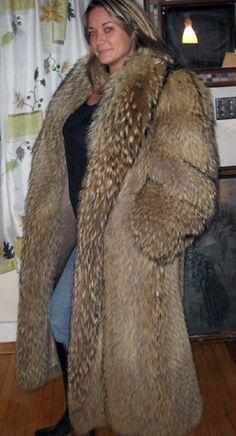 Tanuki Fur Coat Google Search Fur Coats Pinterest