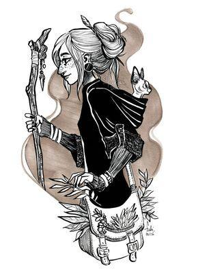 witchsona by Fukari.deviantart.com on @DeviantArt                                                                                                                                                                                 More