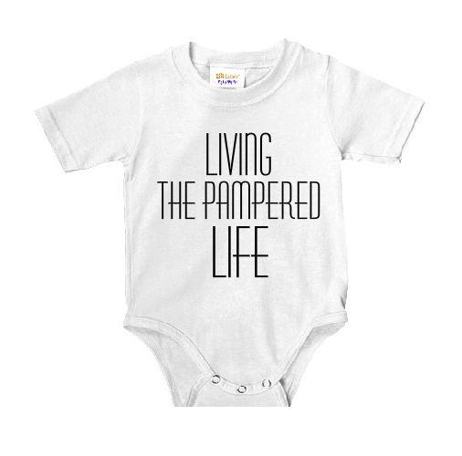 baby peuter dreumes rompertje grappige tekst living_the_pampered_life katoen