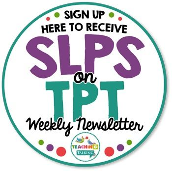 SLPs on TPT Newsletter Sample & Signup----------------------------------------------------------------------------------------Download this freebie file to see a sample of the SLPs on TPT Newsletter.----------------------------------------------------------------------------------------If you have downloaded printable SLP materials here on Teachers Pay Teachers then you are already familiar with their regular weekly newsletter.