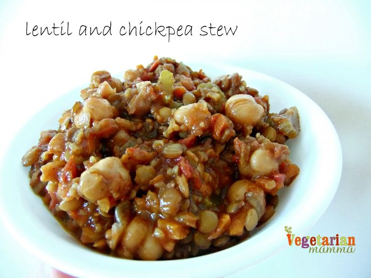 Lentil and Chickpea Stew – #glutenfree #vegan