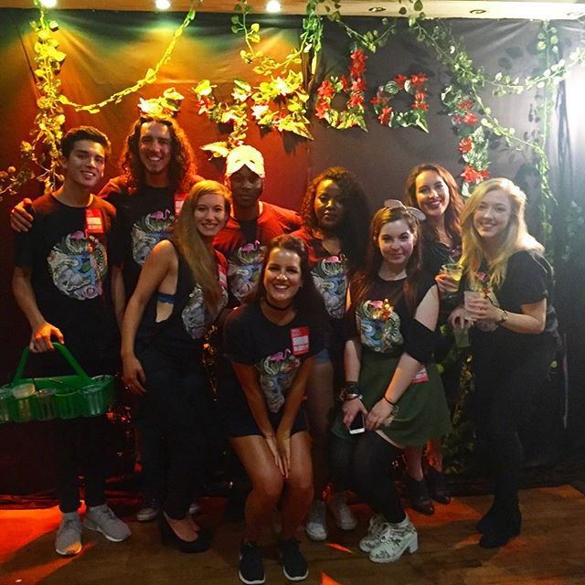 The yada team had an excellent time at @goodlifeuk's #foolsparadisefestival last night. Download the app to see your photos from the captured in the canopy area || 🍹📱📸🐒💦🐯🦁🐘🐍 #yada #events #app #leeds #team #squadgoals #goodlife #festival #fresher