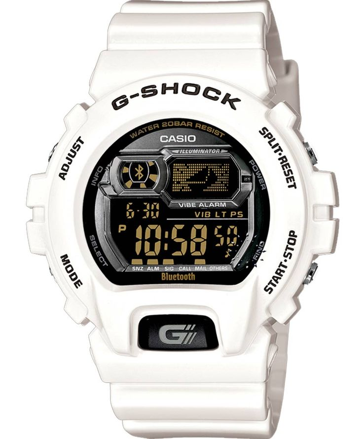 CASIO G-Shock Digital Bluetooth Limited Edition Rubber Strap Τιμή: 199€ http://www.oroloi.gr/product_info.php?products_id=36873