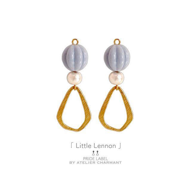 Little Lennon                  「イヤリング」 | ハンドメイドマーケット minne