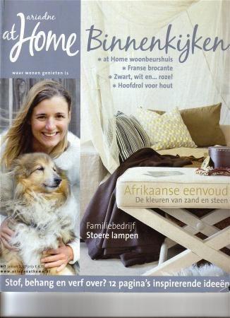 Ariadne at Home, Styling Linda van der Ham, portret & Interior