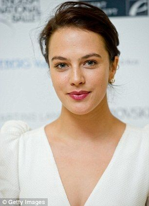 Downton Abbey Jessica had gone from being a television novice to appearing in a lead role in one of the biggest shows in the world