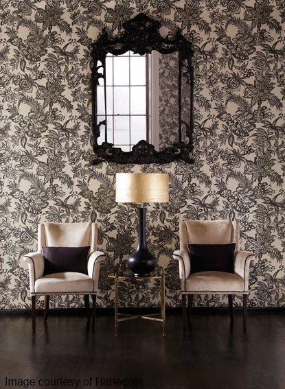 Living Room Feature Wall Decor: Feature Walls - Wallpaper