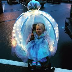 Untitled — Pretty Simple Cinderella Carriage Stroller Costume