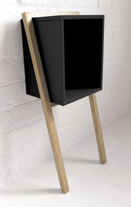 = Lean Man Side table by Frank Flavell barefootstyling.com