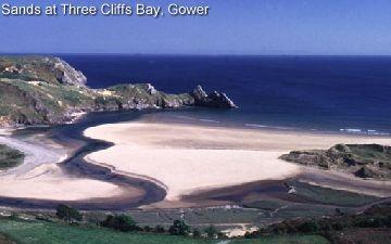 Three Cliffs Bay, Gower