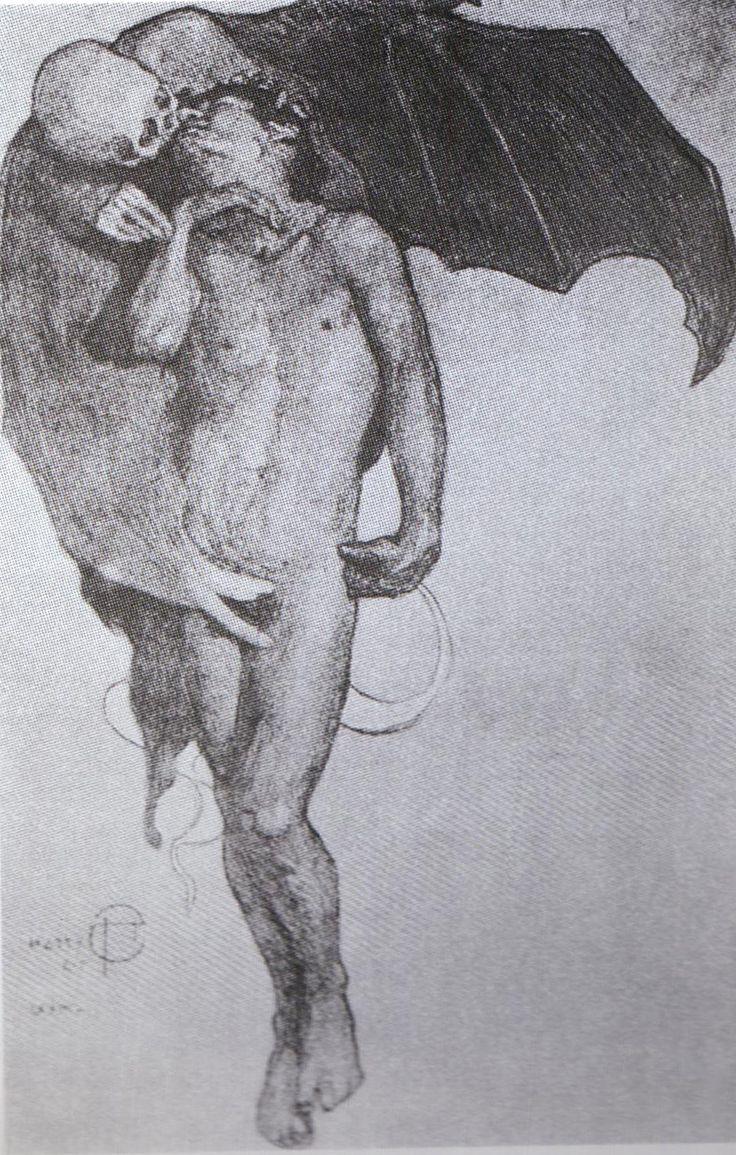 """Saturnino Herrán """"El beso de la Muerte"""""""