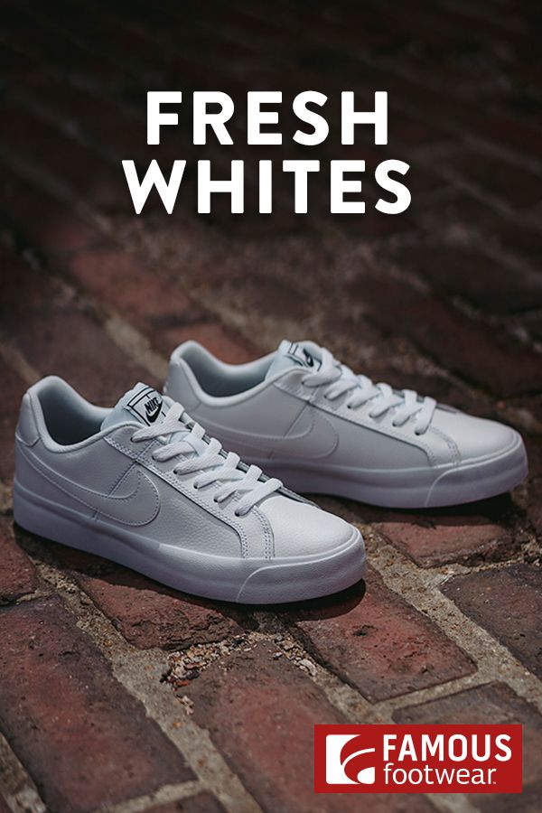 All-White Nike Sneakers | Sneakers