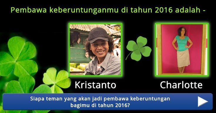 Siapa teman yang akan jadi pembawa keberuntungan bagimu di tahun 2016?