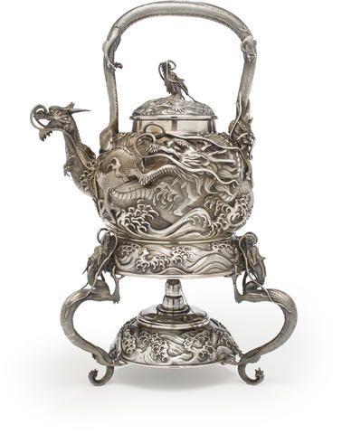 how to work filtered tea pot