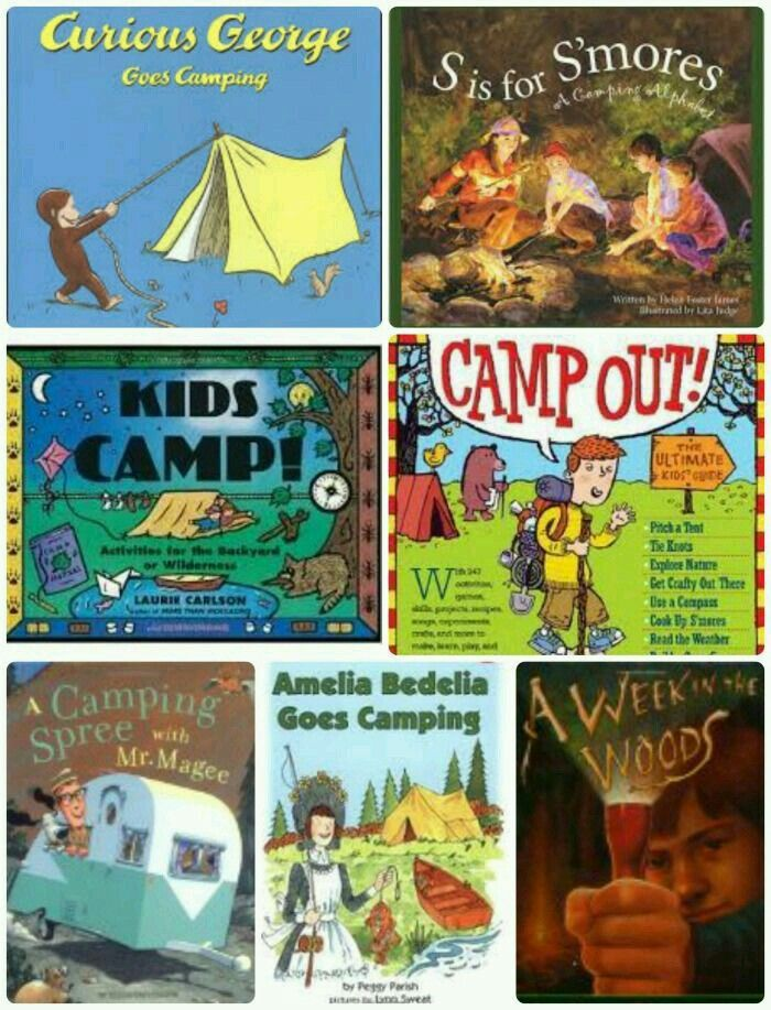 Book Ideas For The Drive Or Campsite