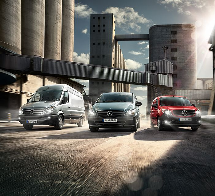 Mercedes-Benz Vans offer convincing long-term economy: Low life-cycle costs combined with low CO2 emissions and an attractive selection of alternative drive systems.