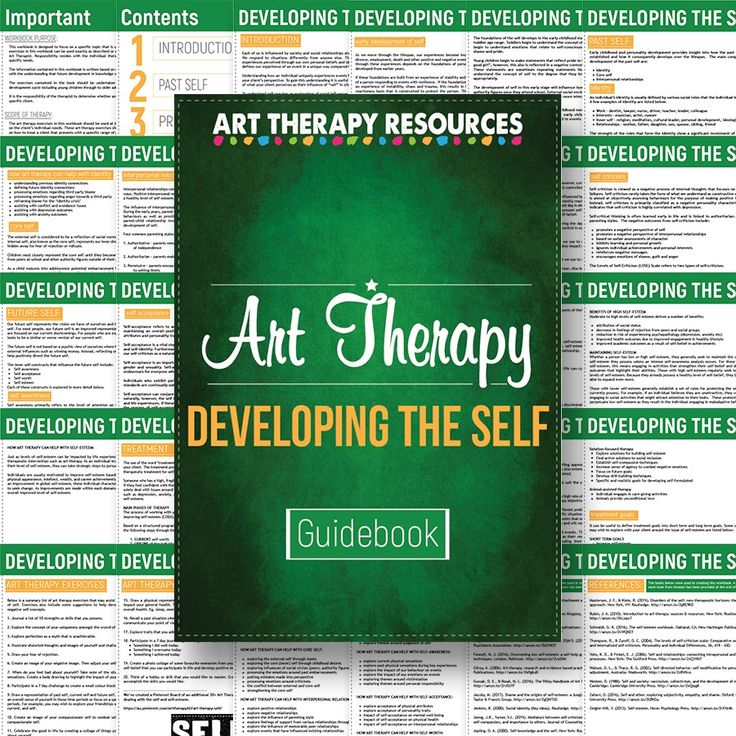 Art Therapy Guidebook - A Guide to Developing the Self