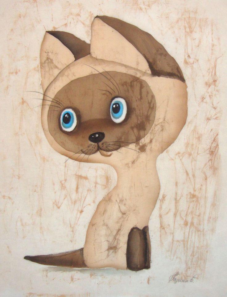 Рисунок котенок гав