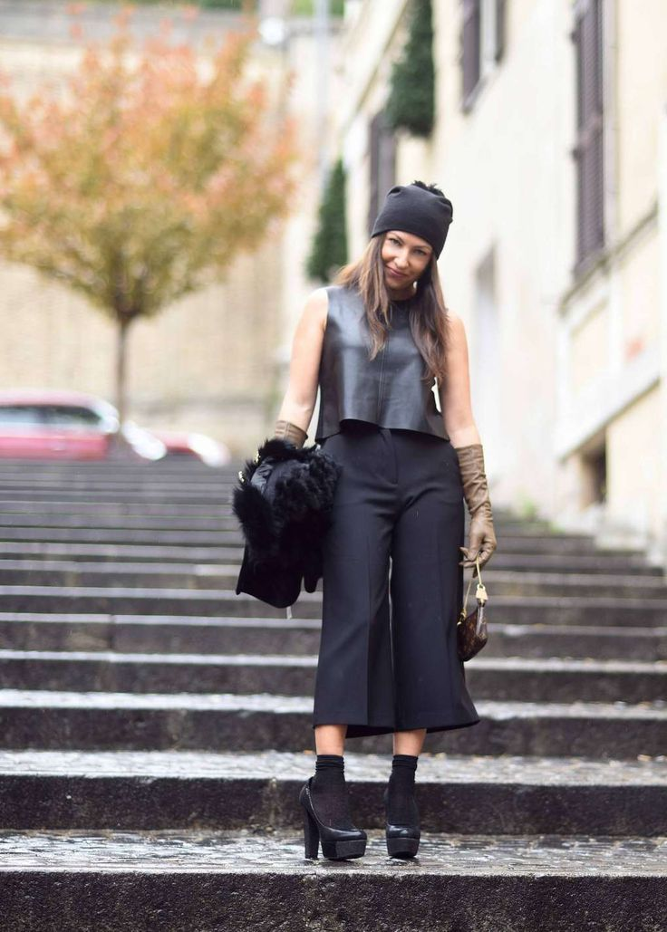 """Morning in Rome """"Culottes""""  The Glitter Mood"""
