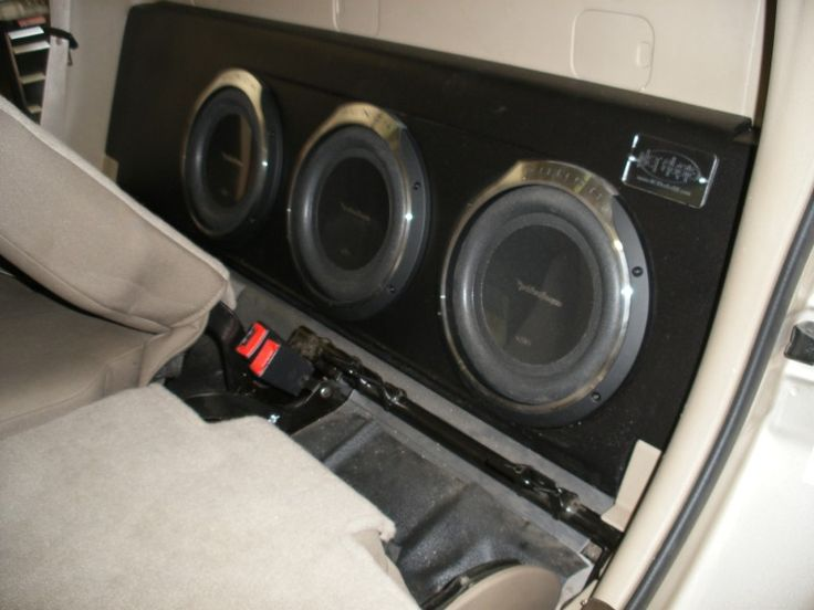 02 Ford Explorer Sport Trac Subwoofer box!