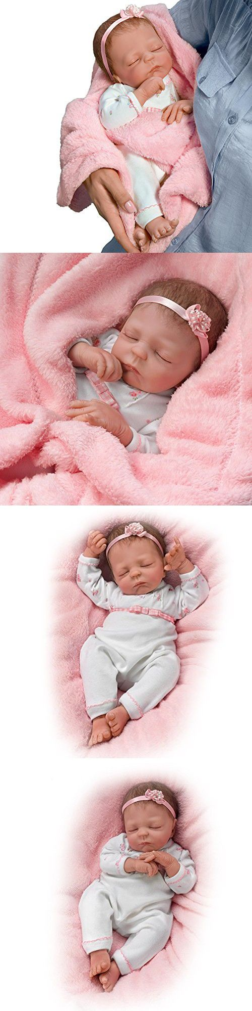 Cuddle Caitlyn So Truly Real Lifelike Baby Girl Doll With Warming Feature by The Ashton-Drake Galleries