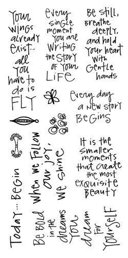 New life notes