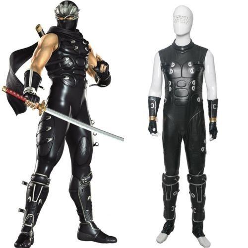Ninja Gaiden Ryu Hayabusa Cosplay Costume Full Set | eBay