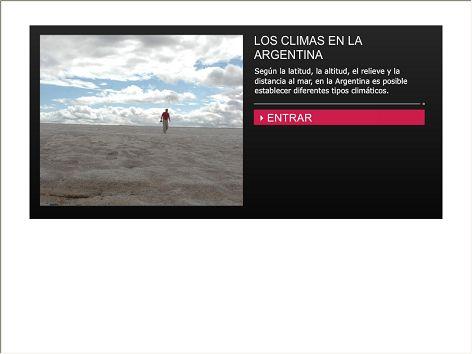 Según la latitud, la altitud, el relieve y la distancia al mar, en la Argentina es posible establecer diferentes tipos climáticos. Esta infografía presenta las características de los climas en cada región de nuestro país.