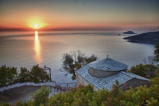 Sunset ~ Alonnisos Island Greece Art & Architecture