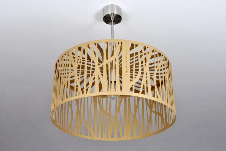 LAMPA nowoczesna niezwykly design GOLD FOREST - Archerlamps - Lampy wiszące