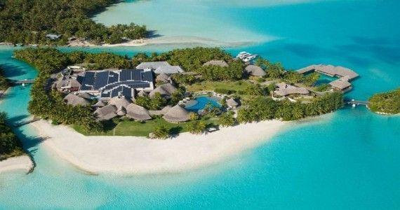Private Island Spa St Regis