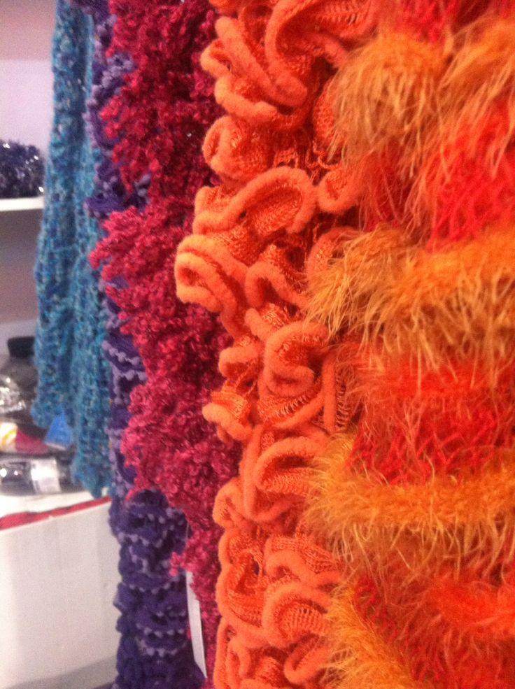 Lovely knitted things.