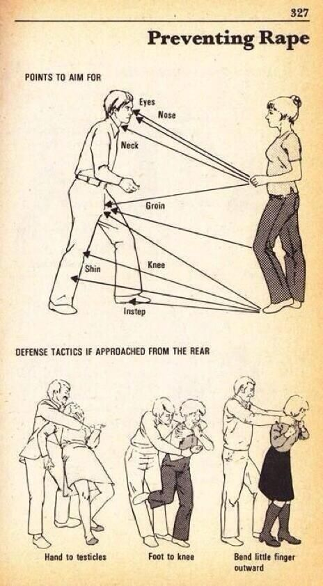 How to protect yourself from an attacker