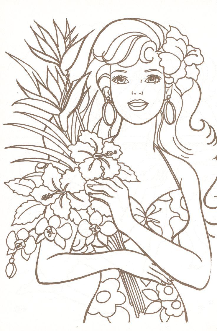 Coloring pages queen elizabeth 1 - Miss Missy Paper Dolls Barbie Coloring Pages Part 1