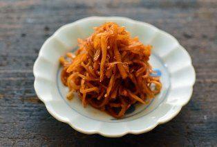 生姜の佃煮のレシピ/作り方:白ごはん.com