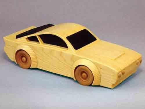 This woodworking plan makes a great race car project that is sure to impress any automotive enthusiast! Build with 3/4 inch pine lumber.