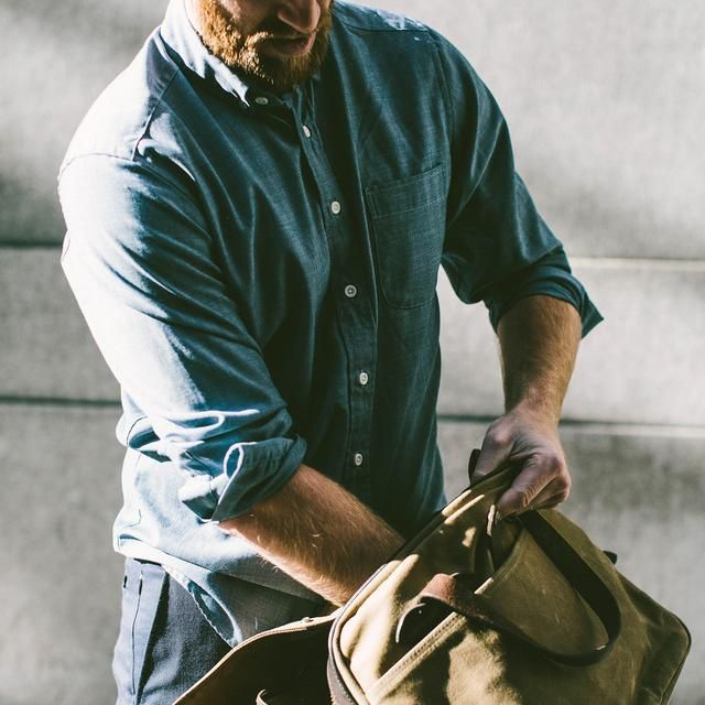 The Jack in Blue Merino 4S Chambray | Taylor Stitch