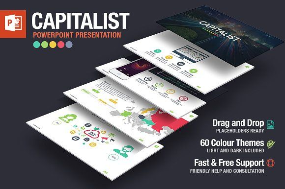 Capitalist Powerpoint Template
