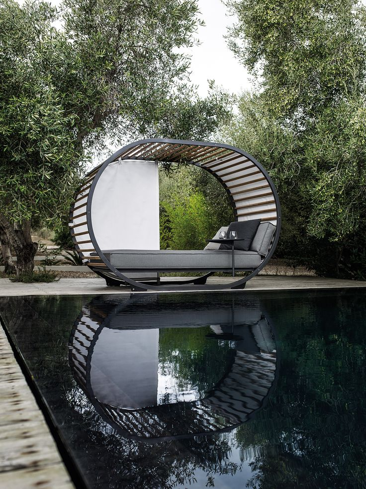 The Cradle Daybed Creates Your Own Private Oasis Within An Outdoor Area,  While Still Being Open And Amongst The Elements. For The Ultimate Relaxation  Add In ... Awesome Ideas