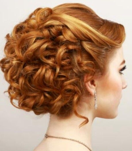 Curl Updo Natural Curly Hair Pinterest Updo Hair