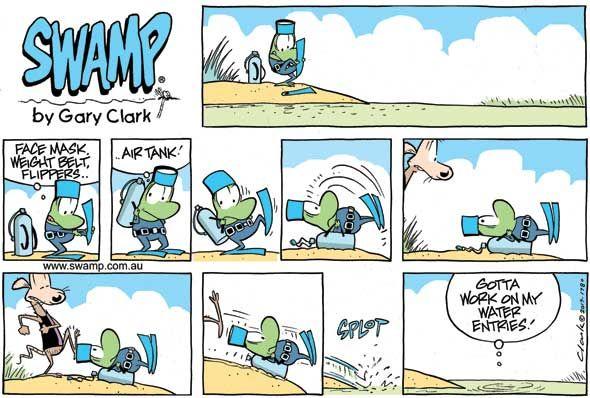 Swamp Daily Cartoon 1
