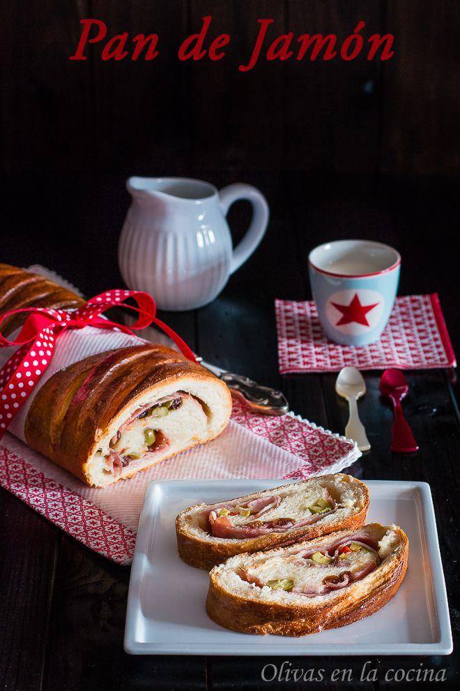 Pan de Jamón, una deliciosa receta a tener en cuenta para las próximas Navidades. Olivas en la cocina