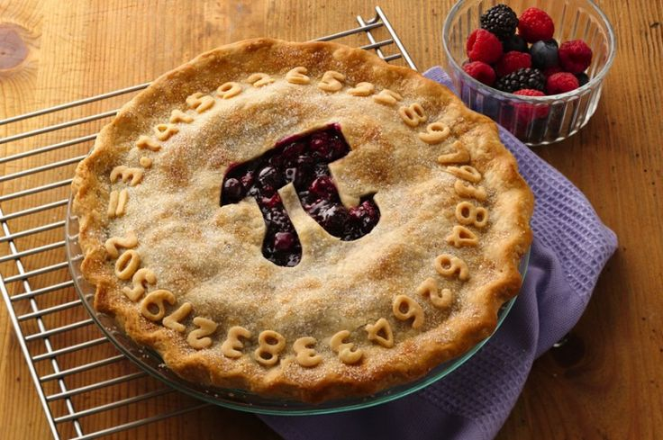 Triple Berry Pi Day Pie by Pillsbury