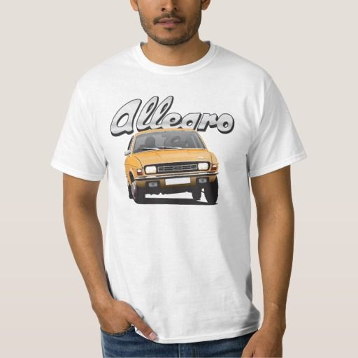 Austin Allegro UK DIY orange gold  #austinallegro #allegro #austin #leyland #british #uk #automobile #car #tshirt #print #illtustration #zazzle #70s #classic #gold