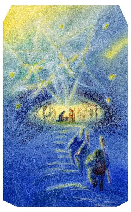 Nativity by Natalia Yeshenko